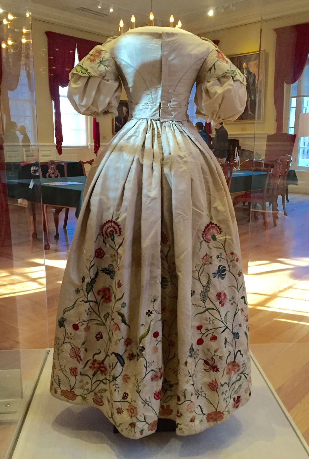 18th century wedding dress  Two Nerdy History Girls Revisiting a Special thc Wedding Dress
