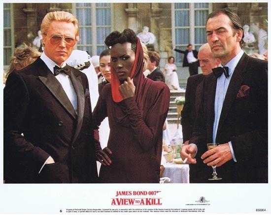 A View To A Kill 1985 James Bond Rare Christopher Walken Us Lobby