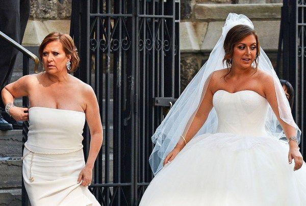 Caroline Manzo Lauren Manzo Wedding Jpg 600 405 Lauren Manzo Wedding Dresses Fashion