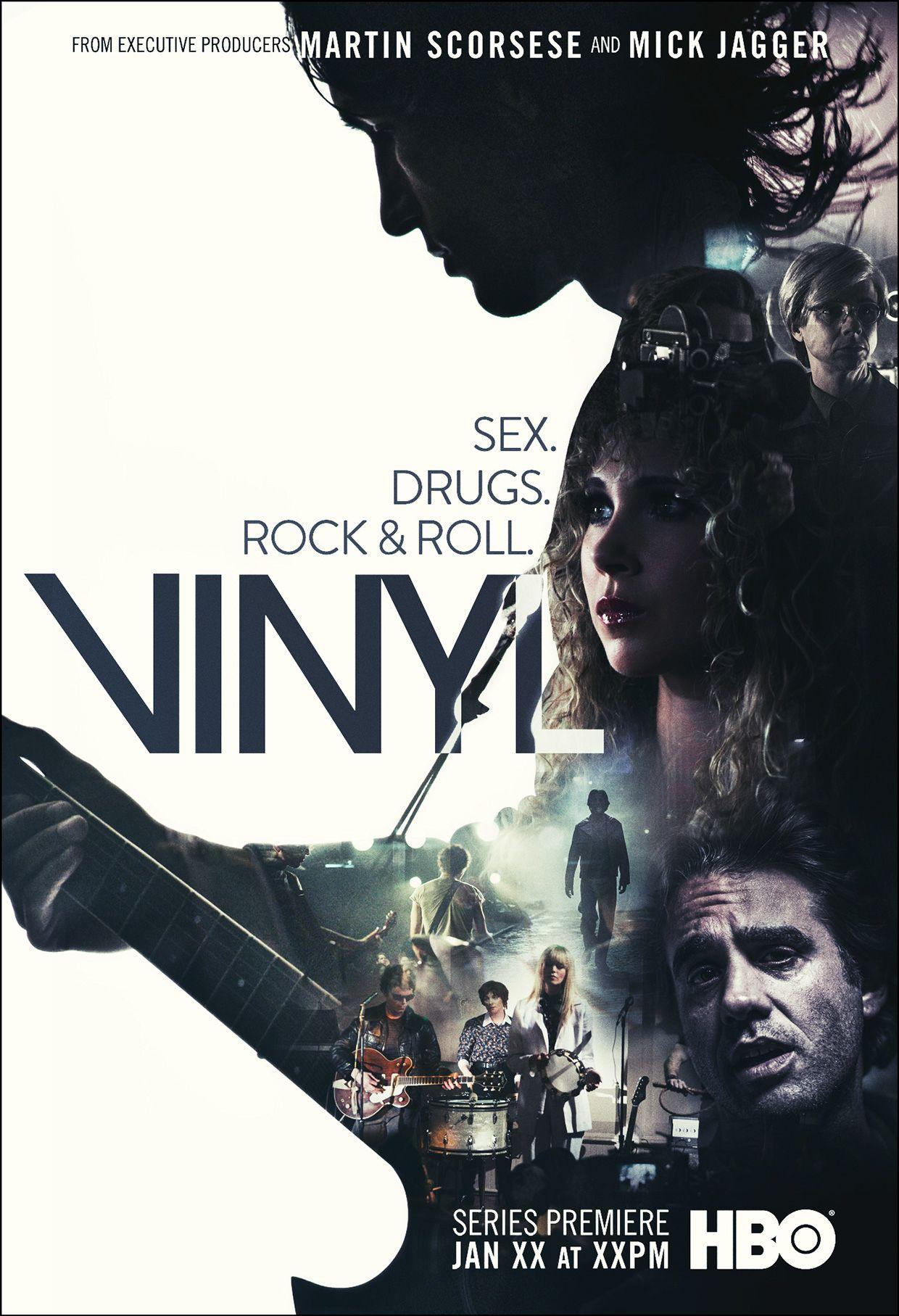 HBO VINYL KEYART on Behance Vinyl hbo, Hbo, Vinyl show