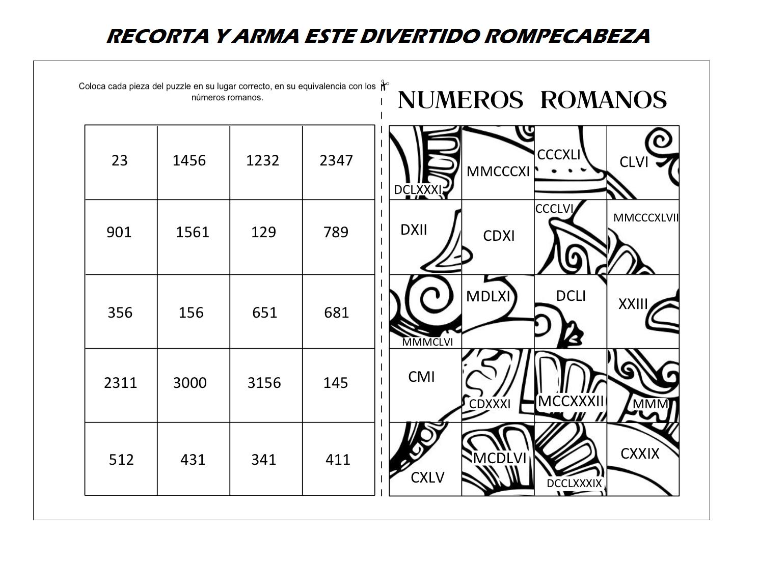 numros romanos 3