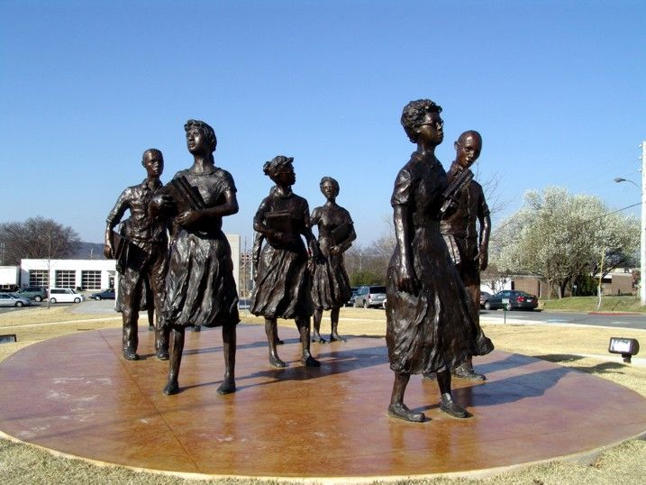 Little Rock Crisis, 1957, The Black Past, Remembered and.
