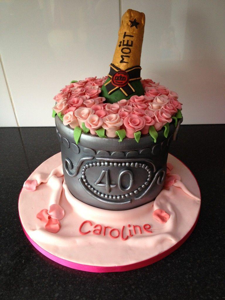 Twitter / kellyemmaellis Champagne bucket!! cake h