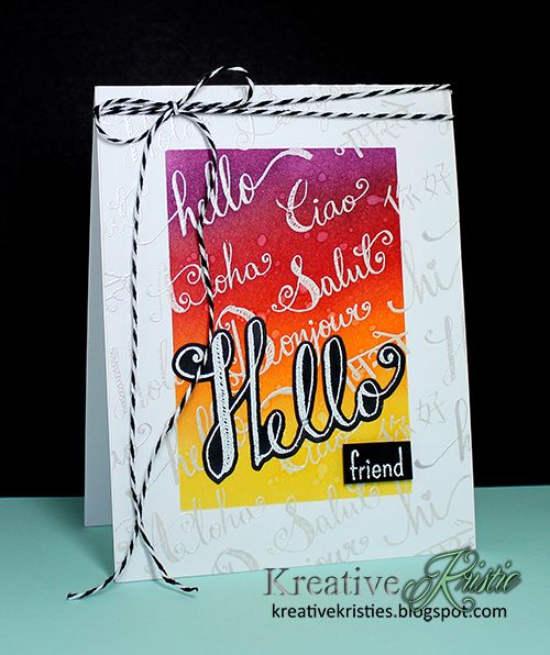 """Hi everyone! Happy World Card Making Day!     Today I am so excited to be participating in a fun blog hop that """"gives back""""! You shoul..."""