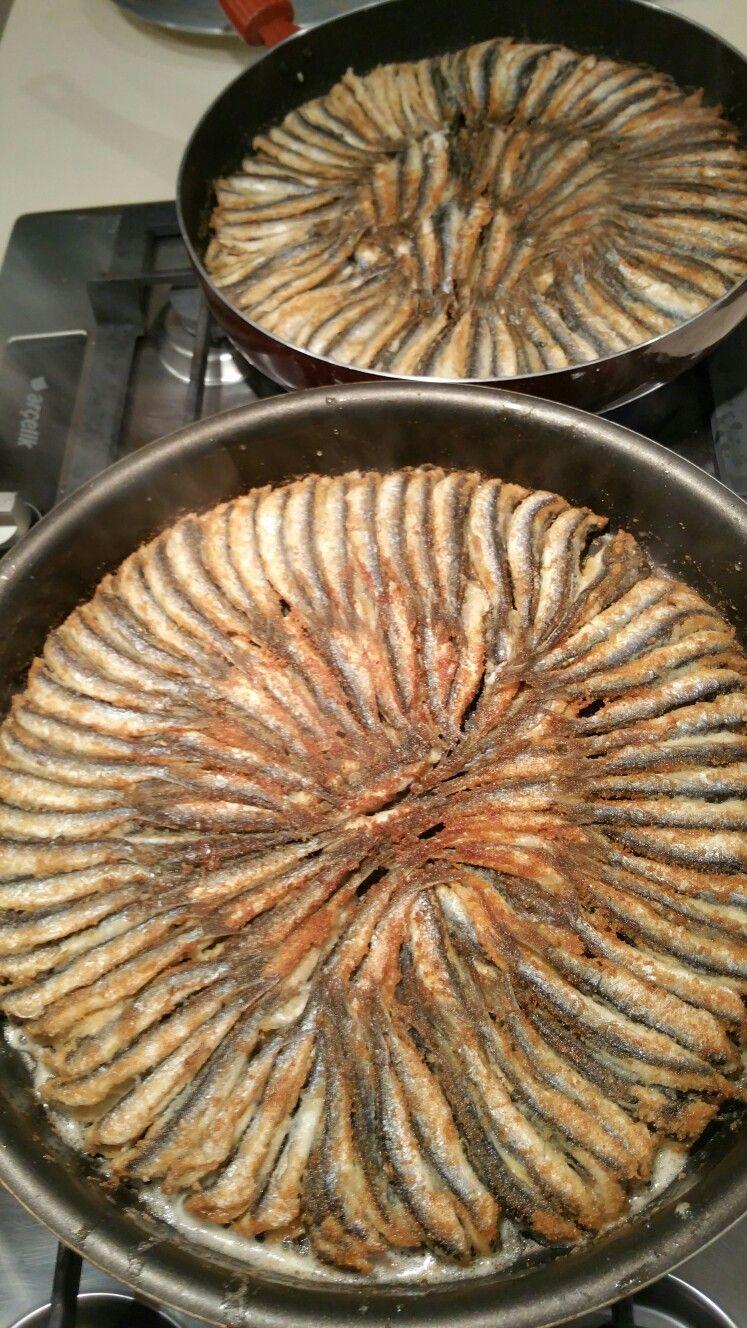 Hamsi Tava from Me | Fish - Fisch - Balık | Pinterest
