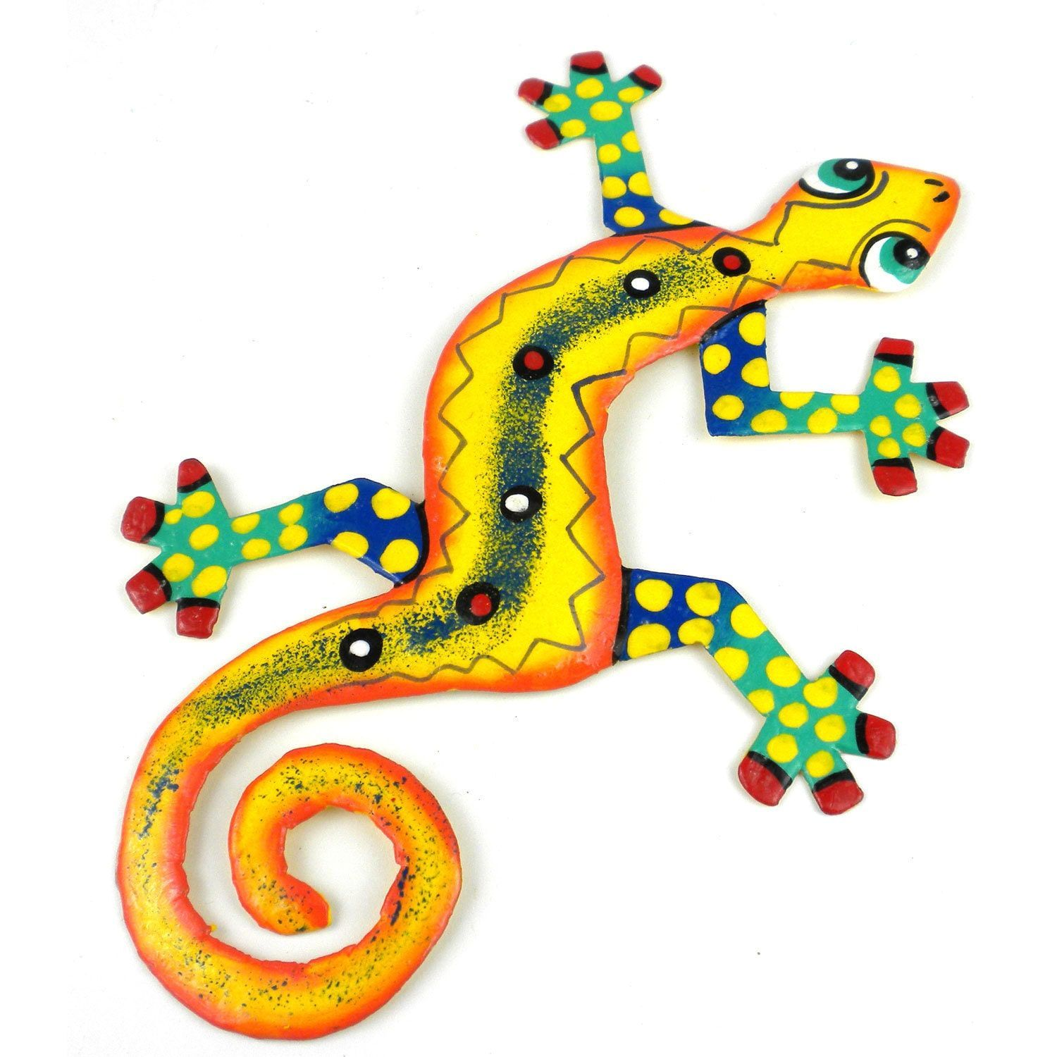 Enchanting Gecko Metal Wall Art Collection - The Wall Art ...