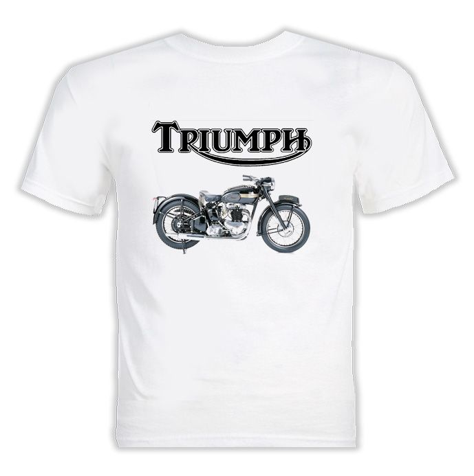 """triumph motorcycle t-shirt 