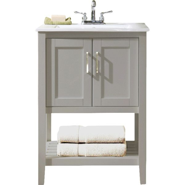 Wayfair Bathroom Vanity >> 24 Single Bathroom Vanity Set By Legion Furniture Wayfair