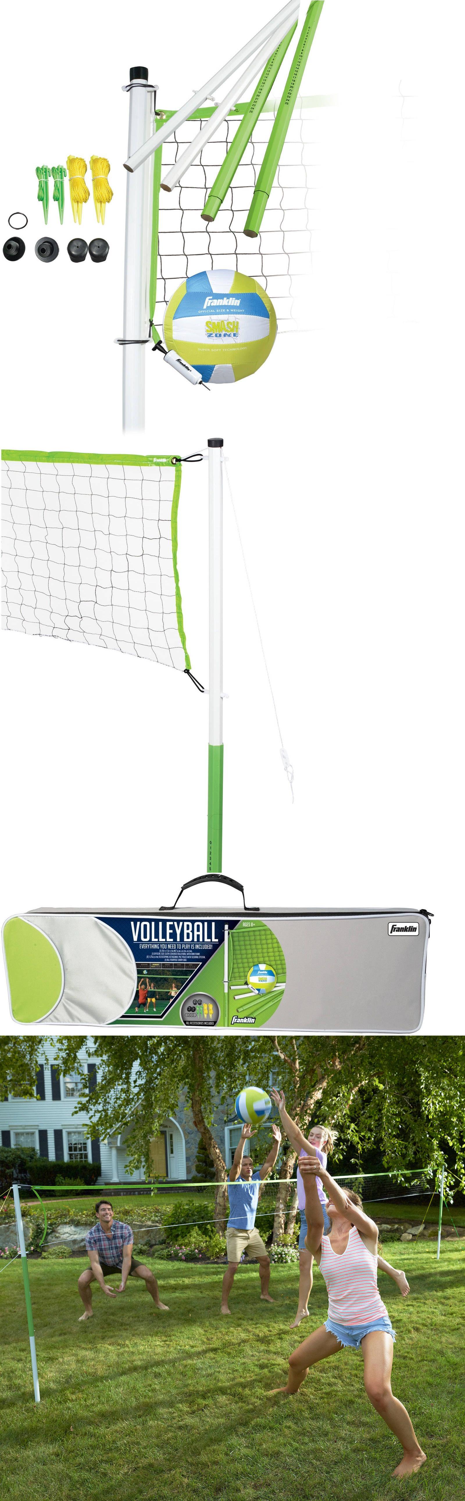 nets 159131 franklin team sports outdoor volleyball set beach