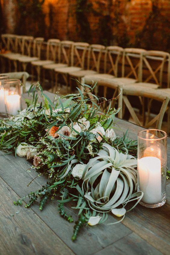 45 Greenery Air Plants Wedding Decor Ideas Wedding Plants Air