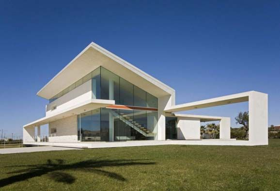 Modern italian villa architecture with glass house theme - Italy modern house design ...