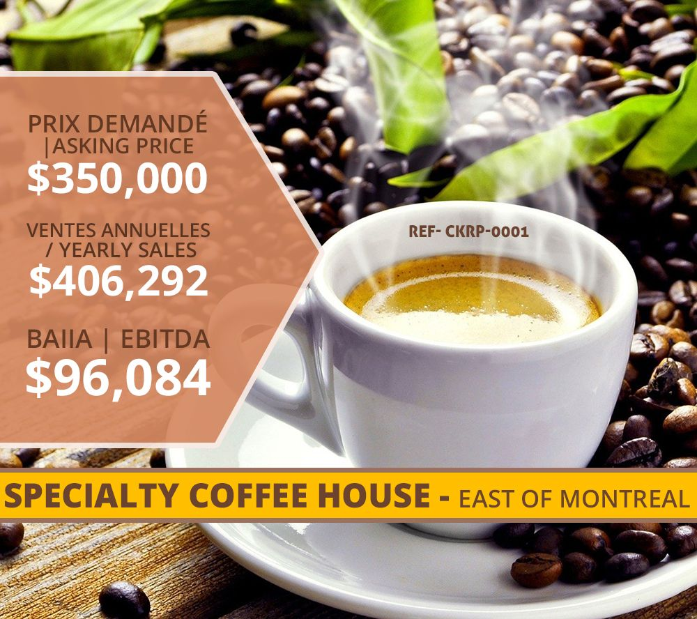 Ckrp 0001 Specialty Coffee House East Of Montreal In 2020 Coffee House Speciality Coffee Commercial Property