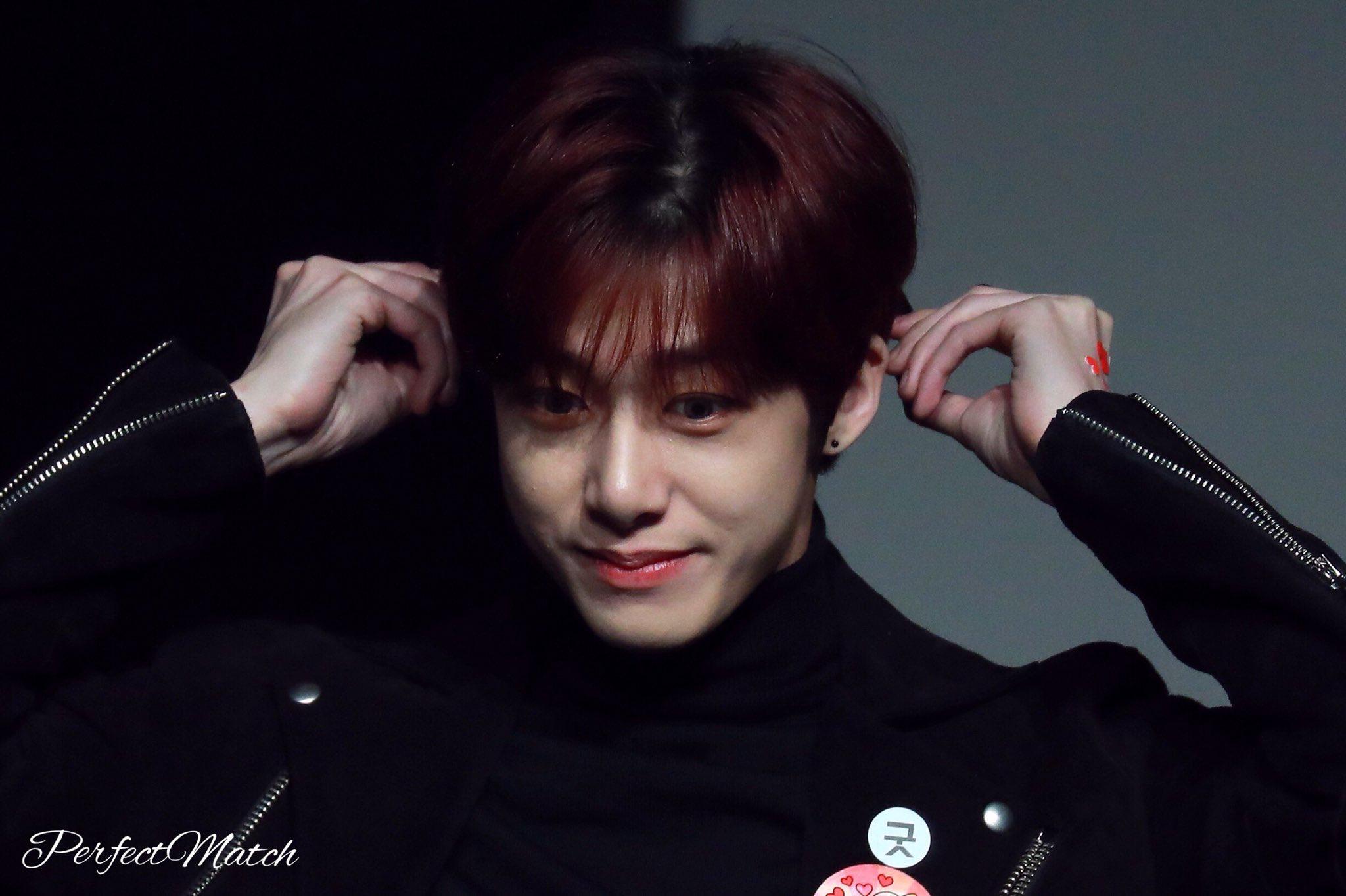 Korean baby boy hairstyle hyungwon  monsta x  pinterest