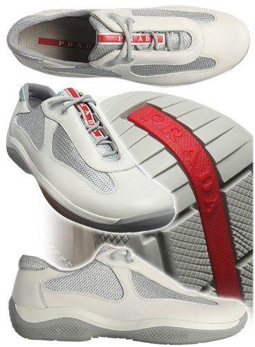 PRADA WOMENS AMERICAS CUP Style  PR3163-O0V Color  TALCO Prada Sneakers 91794d29ba
