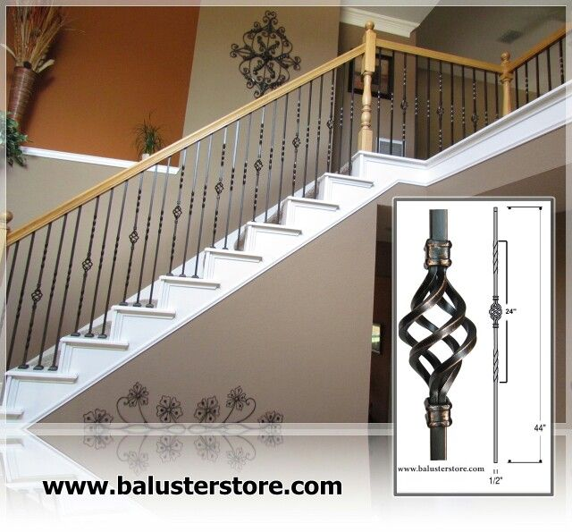 Iron Balusters For Stair And Balconies, Stair Railing, Stair Accessories,  Iron Stair Spindles Www.balusterstore.com