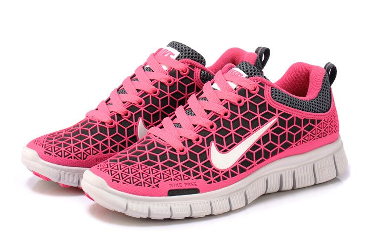 sports shoes e3b2a 8194a Womens Nike Free 6.0 Coal Grey Vivid Pink Off White
