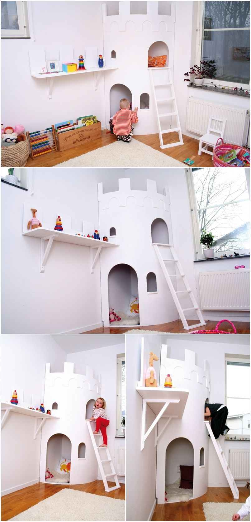 A Two Story Castle Playhouse for Your Prince or Princess. Playroom  ClosetThe PlayroomPlayroom IdeasNursery ...