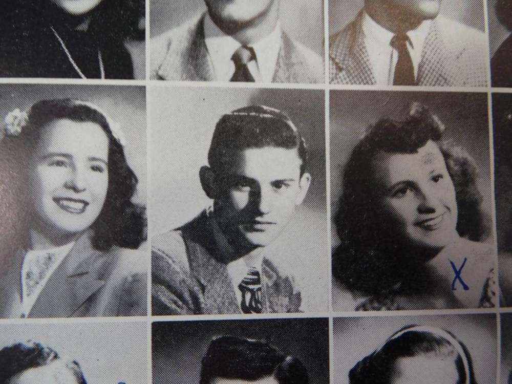 1946 Actor RODDY MCDOWALL University High School West LA CA YEARBOOK Chieftan