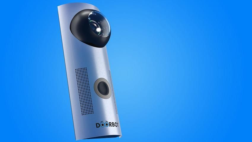 Doorbot Lets You Answer Your Door With A Smartphone Or Tablet Doorbell Smart Doorbell Smartphone