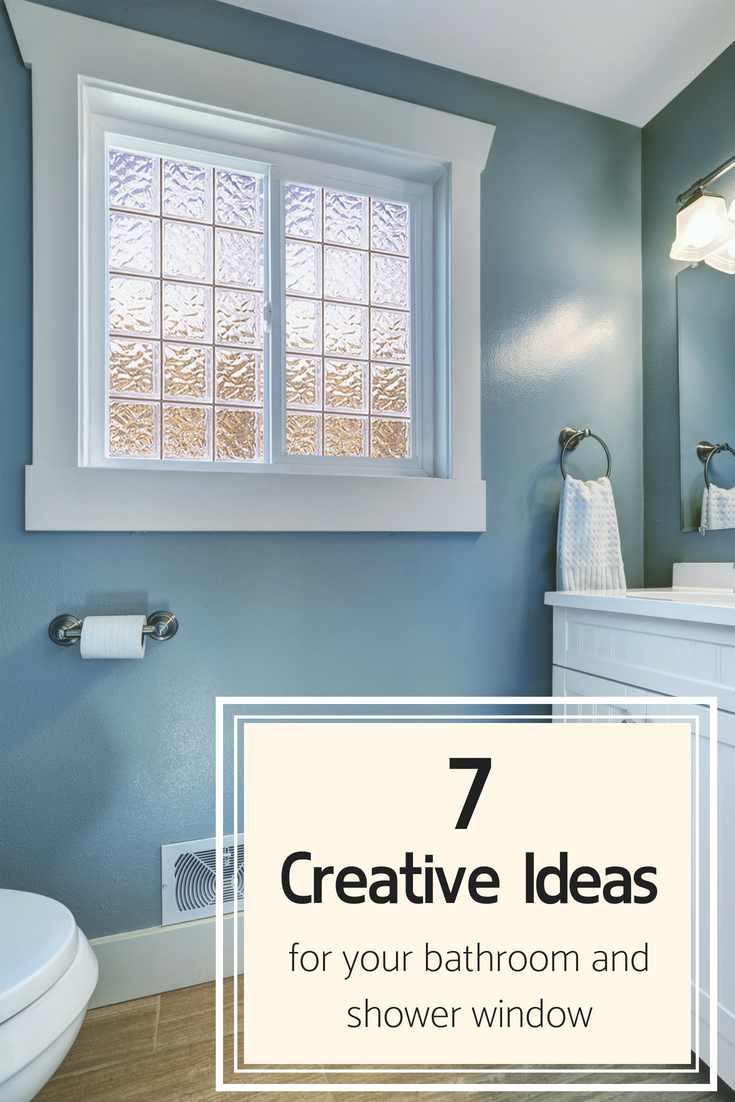 7 Creative High Privacy Bathroom Window Ideas So You Won T Be Putting On A Show In 2020 Window In Shower Bathroom Windows In Shower Bathroom Window Privacy