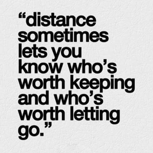 Distance Makes The Heart Grow Fonder Life Quotes Long