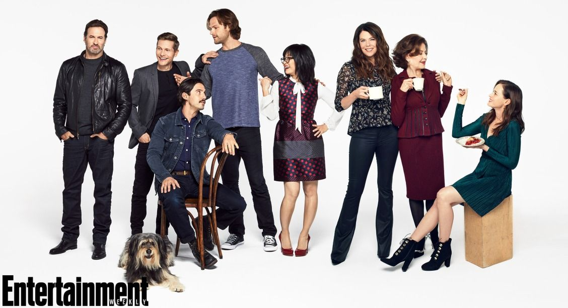 The Gilmore Girls And Guys Are Back Exclusive Photos Of The