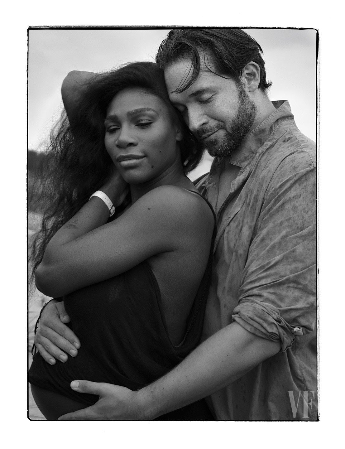 07fb491cf1d Last January, on the eve of the Australian Open, Serena Williams handed her  fiancé, Alexis Ohanian, a paper bag containing six positive pregnancy tests.