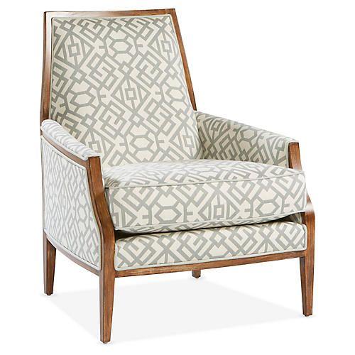 Bergen Accent Chair Spa Ivory Sunbrella In 2020 Luxury Chairs