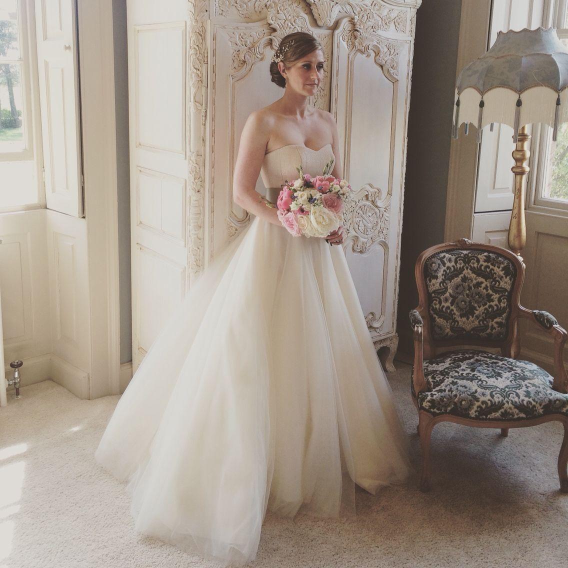 newton hall wedding hairdresser lisa cameron hair bride