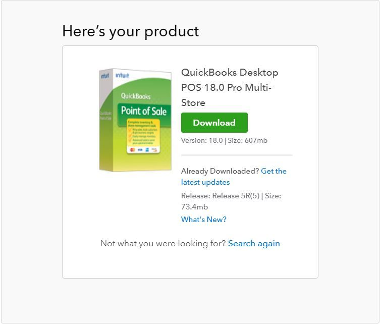 How to install QuickBooks Desktop Point Of sale - QuickBooks