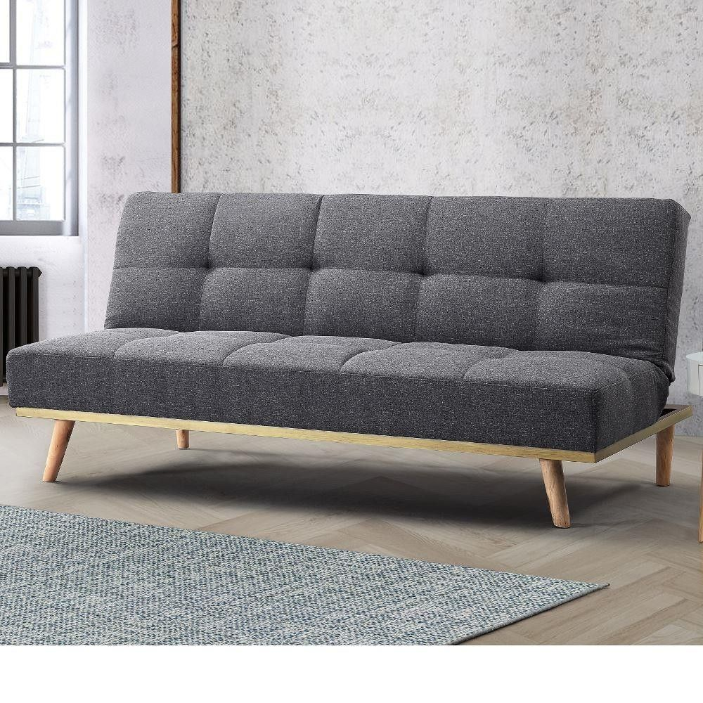 Best Snug Grey Fabric Sofa Bed Sofa Bed For Small Spaces 400 x 300