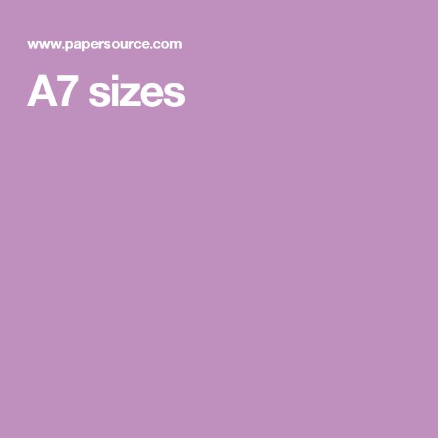 a7 sizes wedding invites pinterest envelope size chart and wedding