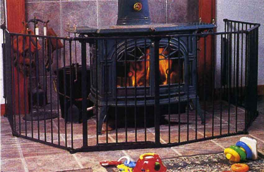 Wood Stove Safety Gate WB Designs - Wood Stove Safety WB Designs