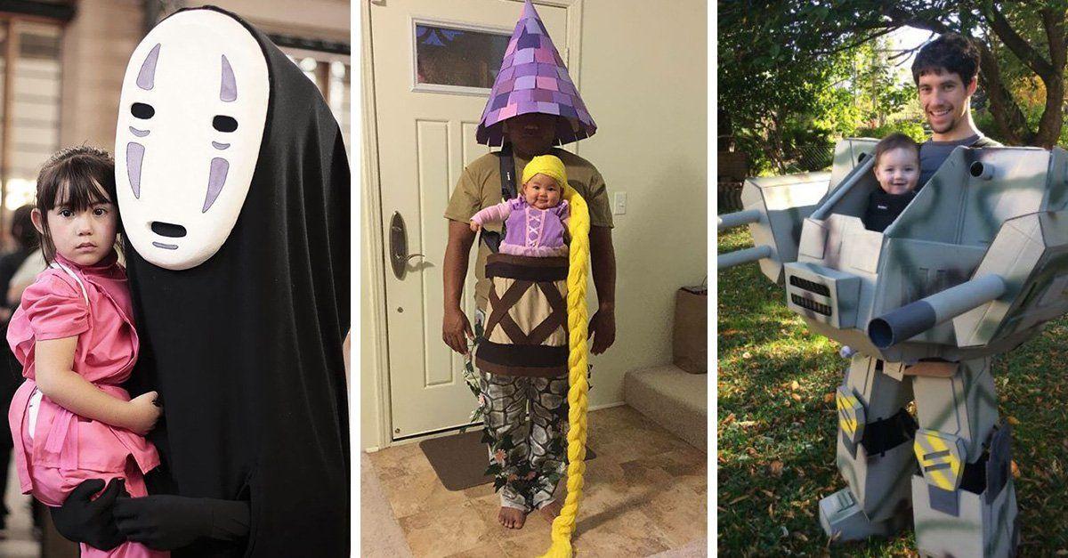 30 Increíbles ideas para disfrazar a los más pequeños de la casa - imagenes de disfraces de halloween