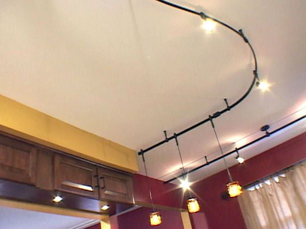 How To Install Pendant Track Lights Flexible Track Lighting