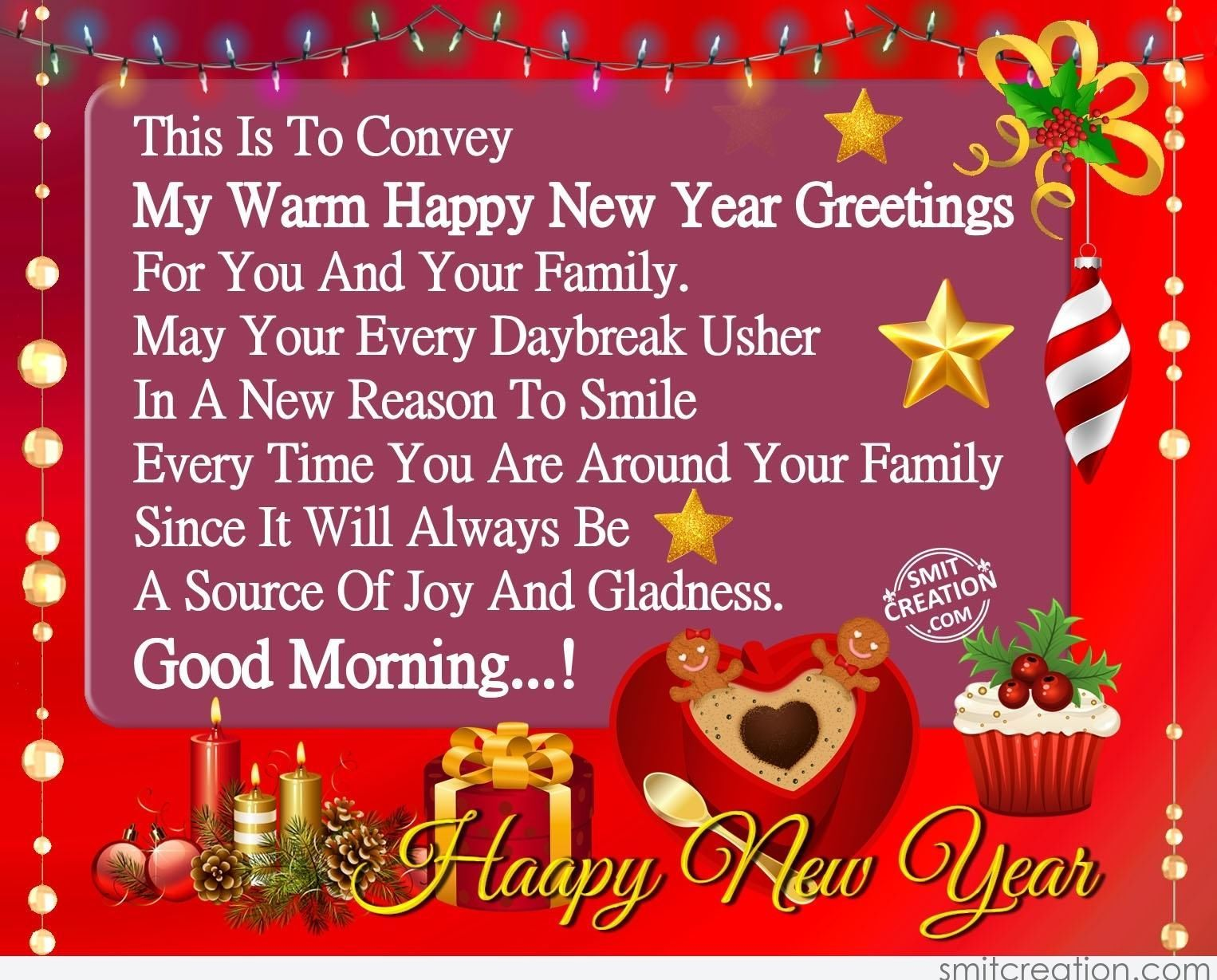 Good Morning Happy New Year Morning Good Morning New Year Happy New