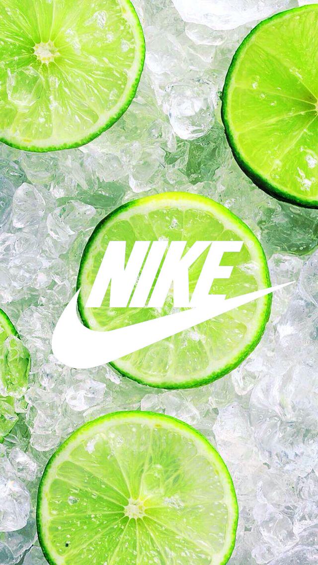Fond d 39 ecran nike wallpaper citron vert glace for Ete wallpaper