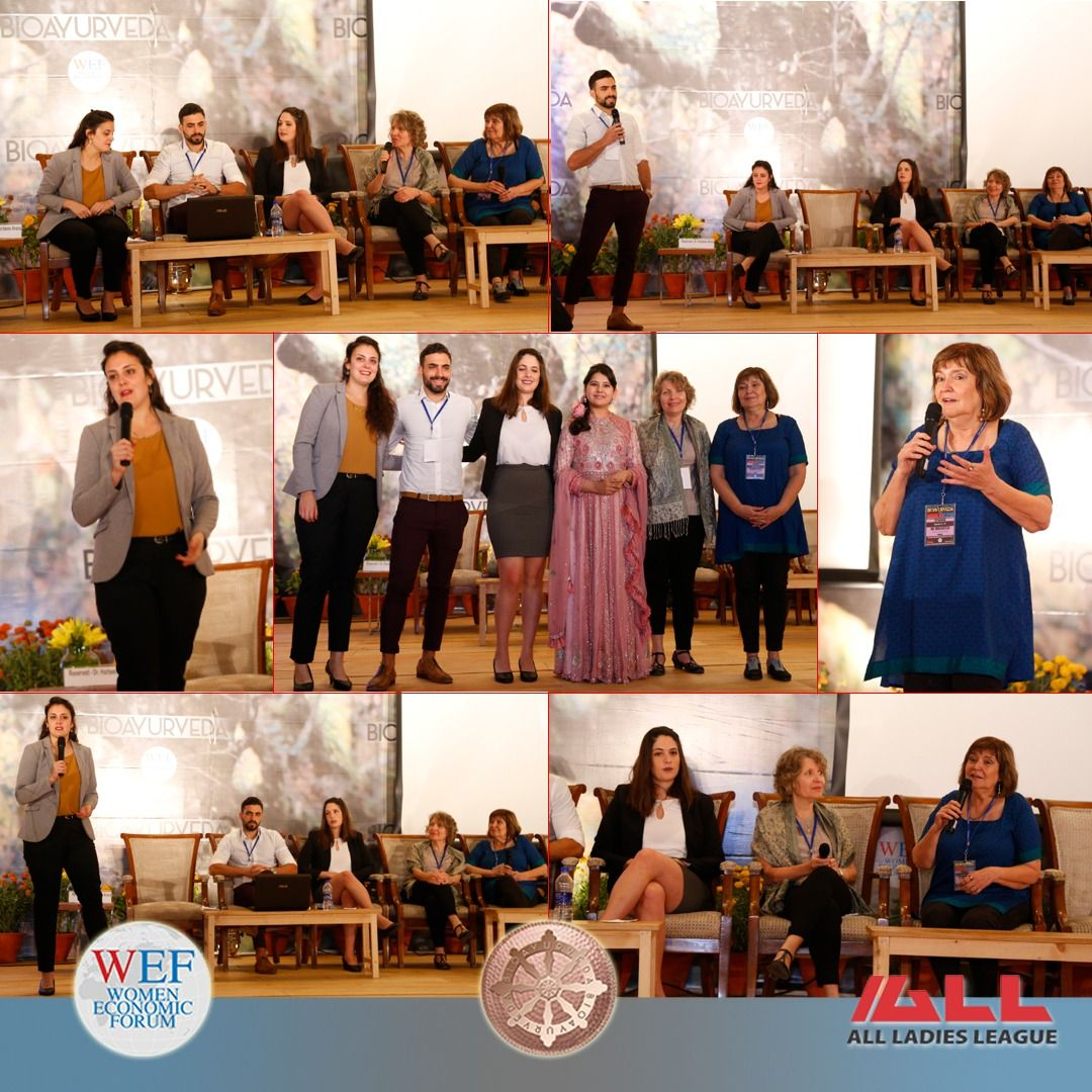 Shenkar College Of Engineering Design And Art Israel In Plenary Session At Wef Annual On 29th April 2018 We Women Global Gathering Female Entrepreneur