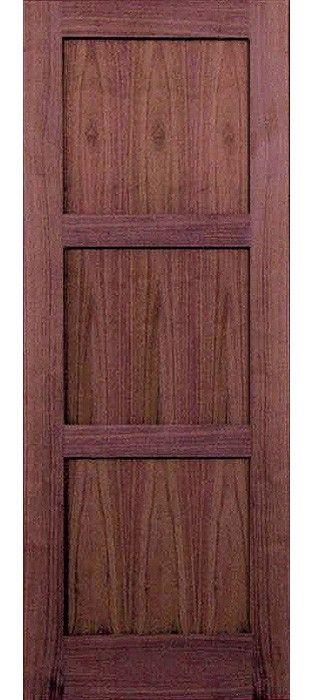 Wv6003p 80 Walnut 3 Panel Shaker Interior Door 1 38 Home