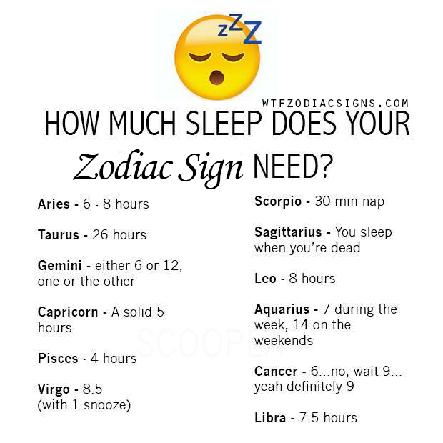 8ab06361d I do sleep a lot on the weekends!! more WTF Zodiac Signs Daily Horoscope  here! - fun zodiac signs fact.