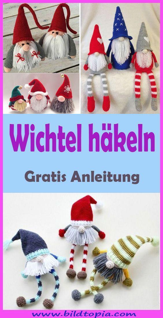 Photo of Amigurumi Wichtel häkeln – kostenlose & einfache Anleitung,  #Amigurumi #Anleitung #einfache …