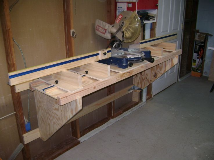 Flip Up Miter Station I Need To Build This Mitre Saw Station Miter Saw Woodworking Shop