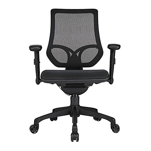 Workpro 1000 Series Mid Back Mesh Task Chair Black Features Multiple Controls For Comfortable Intensive Computing At Your Desk Recommended