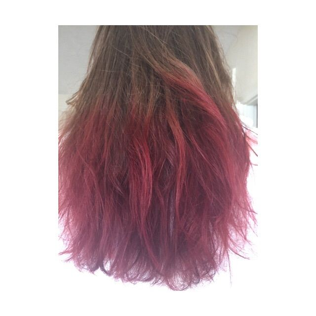 Dip Dye Hair with Kool Aid | Dip dyed hair, Dye hair and ...