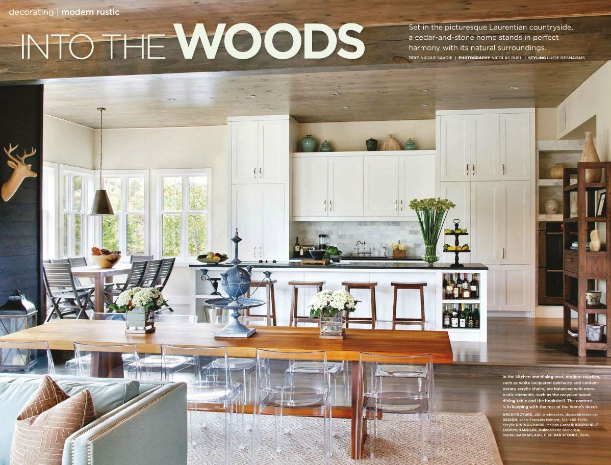 modern rustic :: Style at Home, March 2012 | Dining | Pinterest ...