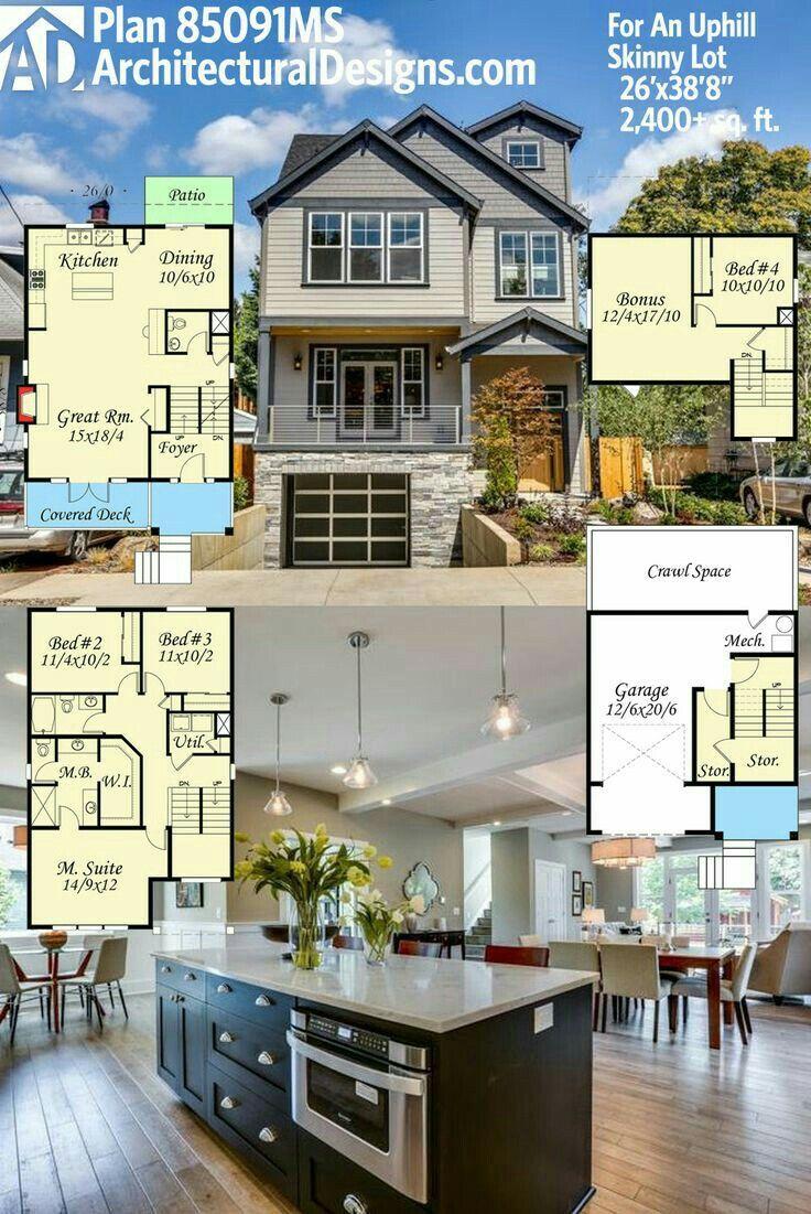 Modern Domy Mal Domy House Blueprints Arquitetura