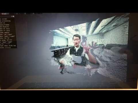 Etron:eYs3D eSP876 demo video - Fast 3D Depth-Map Capturing ...