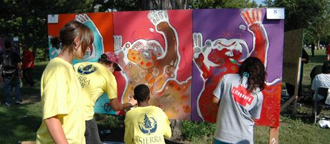 Arts Street organized the first Urban Arts mural competition in 2009 as part of the city's effort to address tagging.