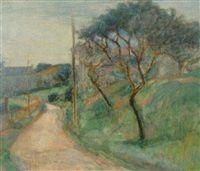 Weg zum Dorf by Abraham Kozlov