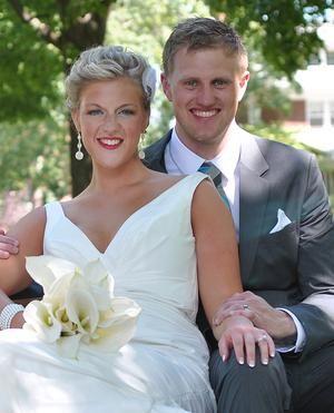 Alicia Meyers and Michael Slenk #Wedding HollandSentinel.com